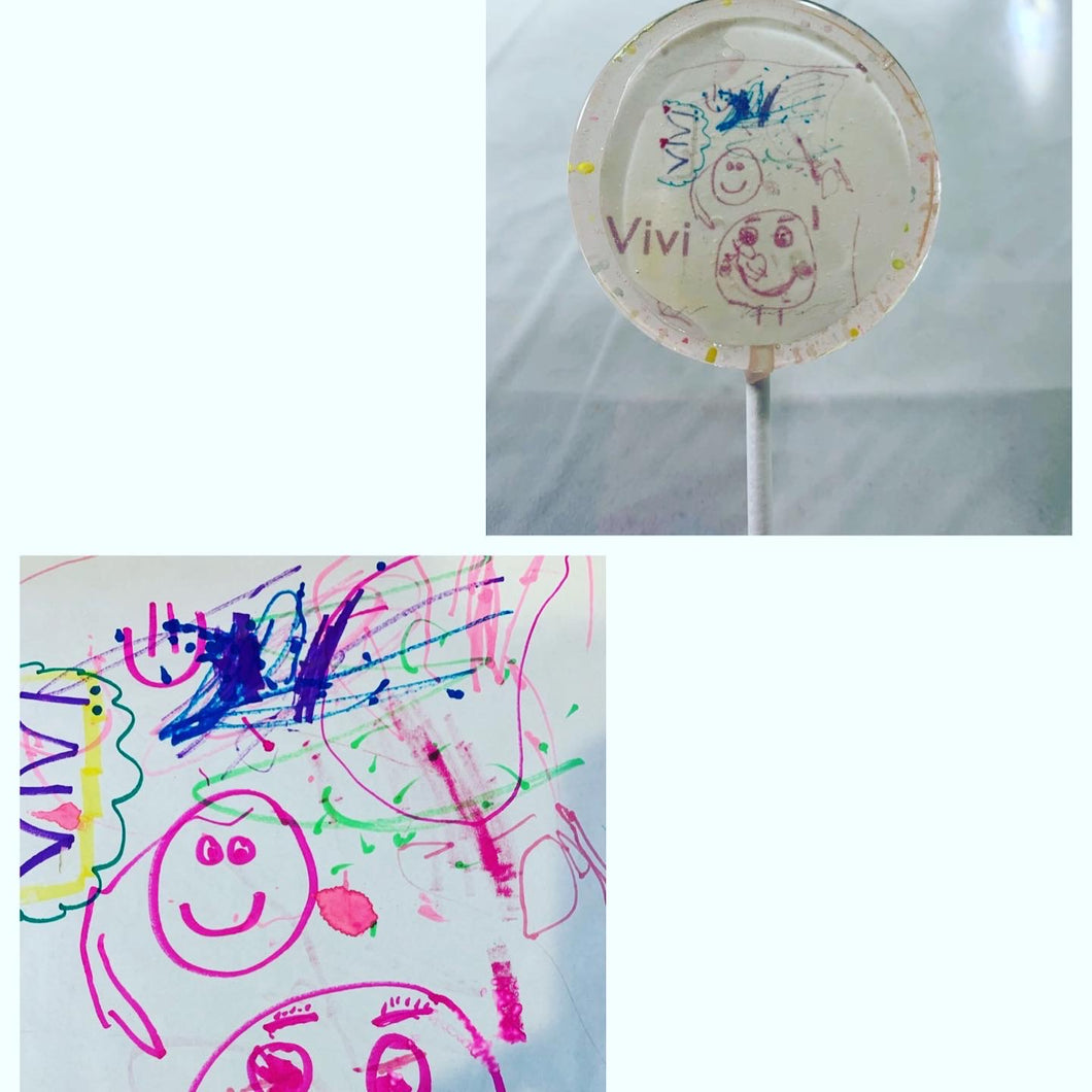 6 Kids Art Project Lollipops