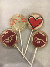 Load image into Gallery viewer, 6 Valentine's Day/I Love you Lollipops