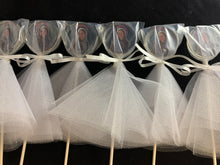 Load image into Gallery viewer, 6 Bride Lollipops for Wedding or Shower favors