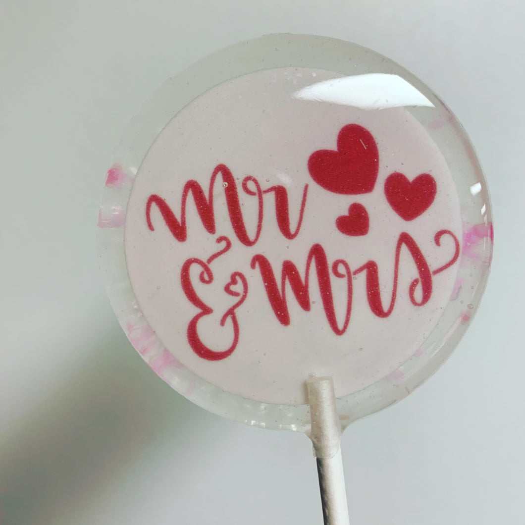 Mr. & Mrs. Lollipops