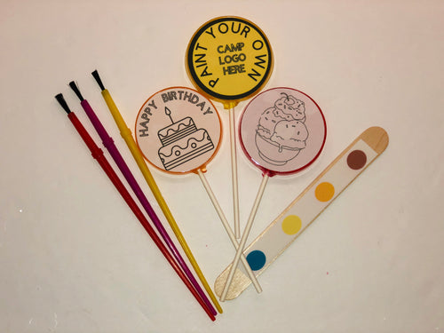 6 Paint Your Own Lollipops sets