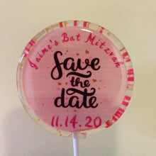 Load image into Gallery viewer, Save The Date Lollipops