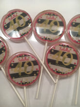 Load image into Gallery viewer, Personalized Hard Candy Lollipops