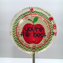 Load image into Gallery viewer, 6 Teacher Appreciation Lollipops