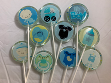 Load image into Gallery viewer, Baby Boy Lollipops with your graphic