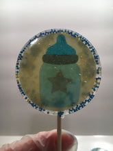Load image into Gallery viewer, 6 Baby Boy Personalized Lollipops Set 2