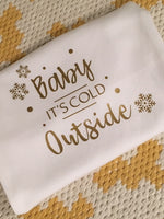 Baby It's Cold Outside - Baby Vest