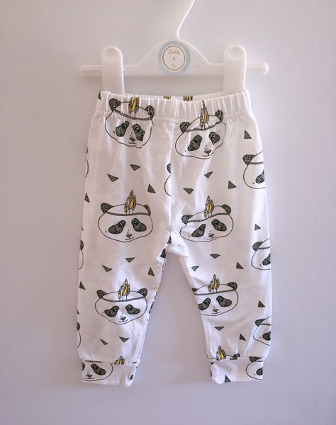 Tribal Panda Leggings