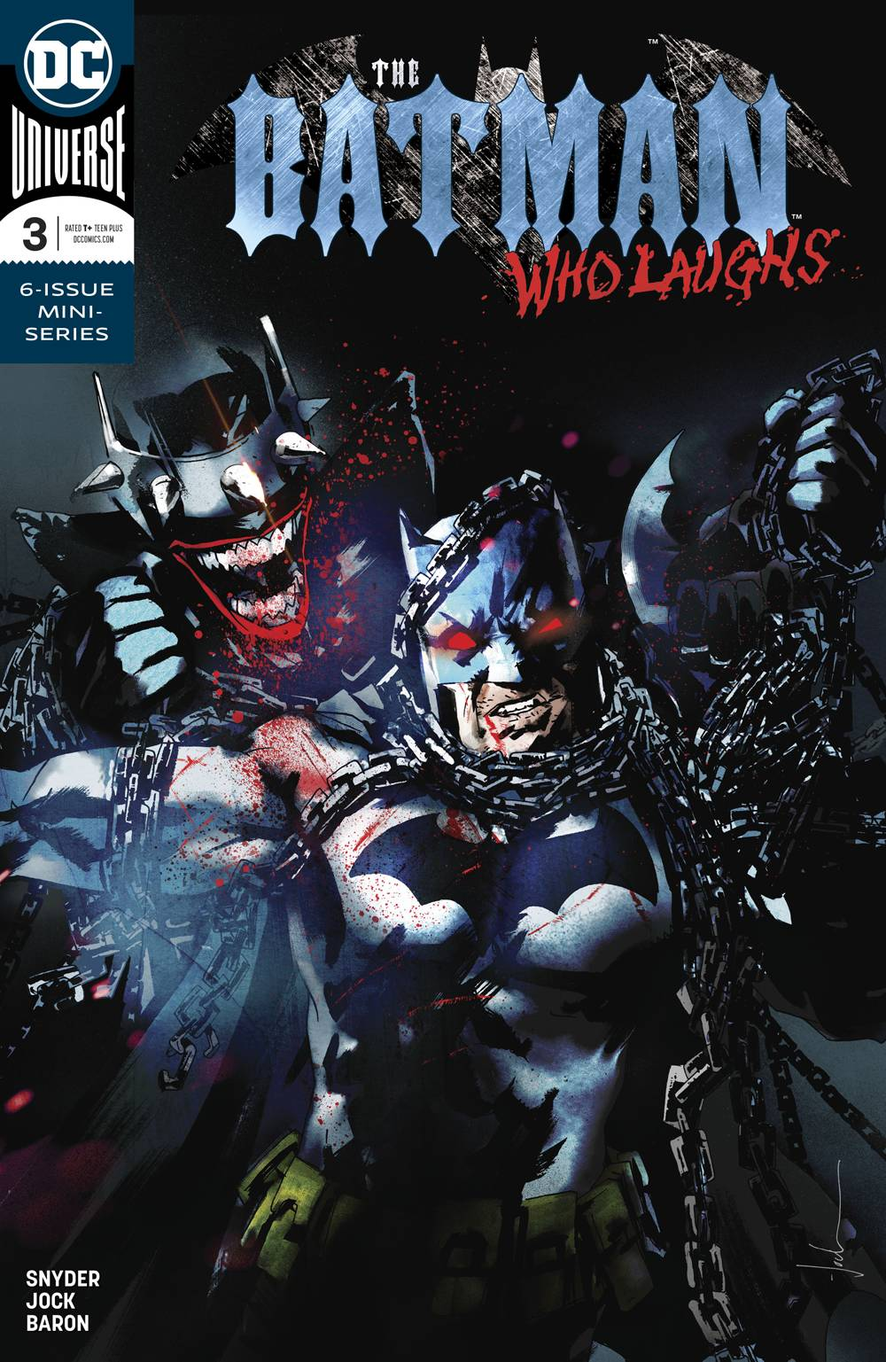 BATMAN WHO LAUGHS #3 (OF 6)