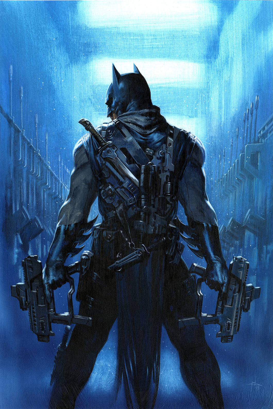 BATMAN WHO LAUGHS THE GRIM KNIGHT #1 VAR ED