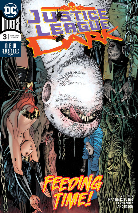 JUSTICE LEAGUE DARK #3 1st Cover Appearance Upside Down Man