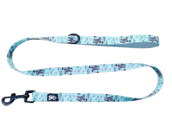 butterfly print dog leash