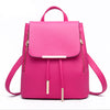 Backpack Women Leather Backpacks High Quality - Gadget Canada