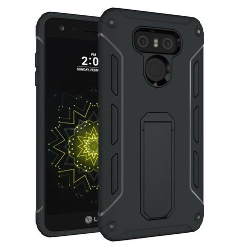 Durable Armor Stand Protector Phone Back Cover - Gadget Canada