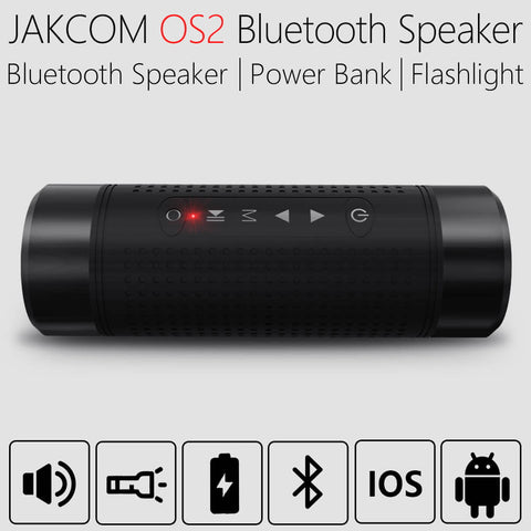 Jakcom OS2 Outdoor Bluetooth Speaker Waterproof 5200mAh Power Bank - Gadget Canada