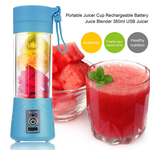 380ml USB Rechargeable Juicer - Gadget Canada