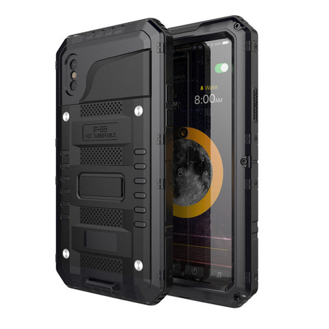 Metal Armor Shockproof Aluminum Phone Case - Gadget Canada