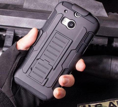 Holster Shockproof Stand Hard Phone Cases - Gadget Canada