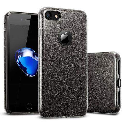 3 IN 1 Gradient Glitter Phone Cover - Gadget Canada