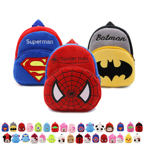 Cartoon Kids Plush Backpacks - Gadget Canada