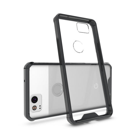 Hybrid Soft Silicone Frame Hard Phone Cases - Gadget Canada