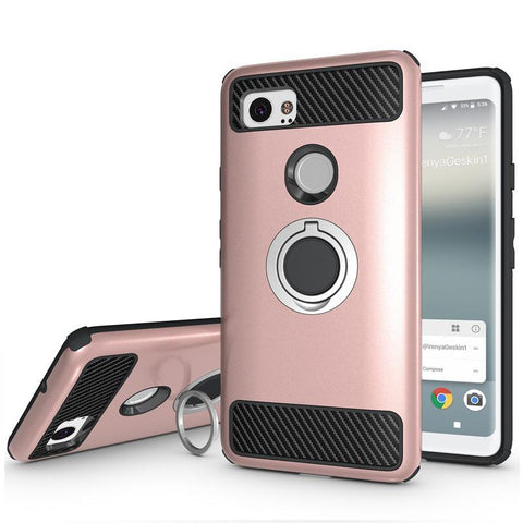 Anti-knock Magnetic Phone Case with Finger Ring - Gadget Canada
