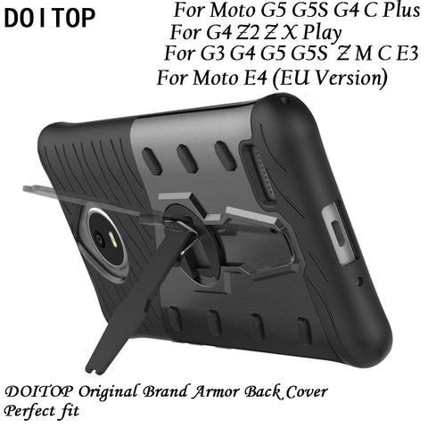Anti-knock Armor Back Cover Case - Gadget Canada