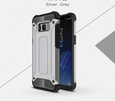 Strong Hybrid Tough Shockproof Phone Case - Gadget Canada
