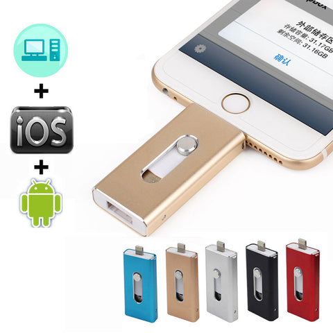OTG USB Flash Metal Pendrive - Gadget Canada