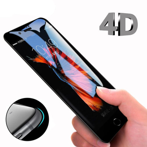 4D Round Curved Edge Tempered Glass - Gadget Canada