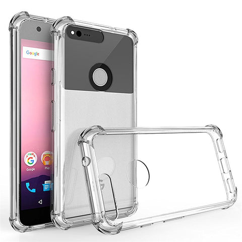 Clear Crystal Soft Silicone Full Protection Phone Cover - Gadget Canada