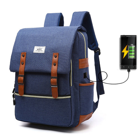 Large Capacity USB Smart Backpack - Gadget Canada