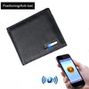 Smart Wallet Men Genuine Leather High Quality Anti Lost Intelligent Bluetooth - Gadget Canada