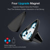 Magnetic Car Phone Holder Strong Adsorption Triangle Design Air Vent Mount - Gadget Canada