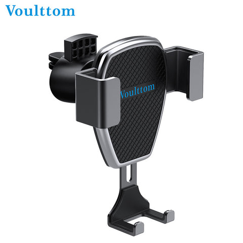 Voulttom Gravity Car Phone Holder for Air Vent Auto Lock Phone Mount Holder - Gadget Canada