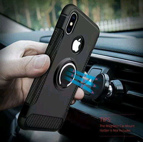 Magnetic Holder Shockproof Smart Case - Gadget Canada