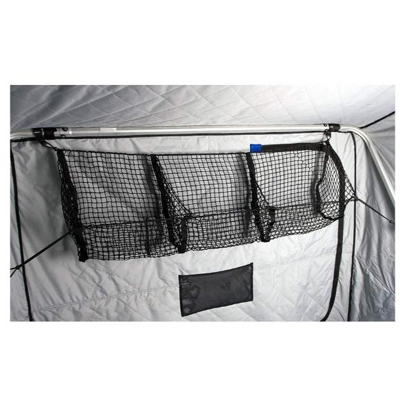 Otter Outdoors - Two Adjustable Rod Holders + Overhead Hammock + 3 Pocket  Cargo Storage Net Pro Package