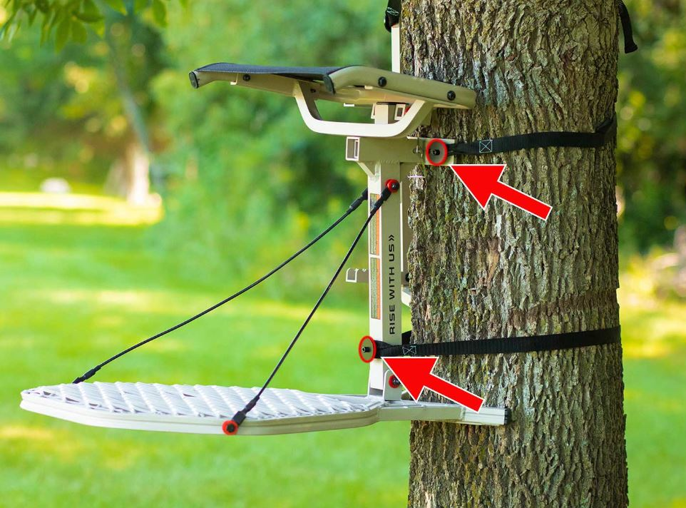 X Stand The X Pedition 2 0 Hang On Tree Stand Vermilion