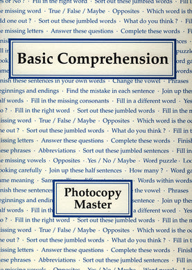 Basic Comprehension