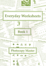 Load image into Gallery viewer, Everyday Worksheets: Book 1