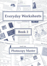 Load image into Gallery viewer, Everyday Worksheets: Book 2