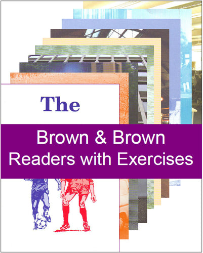 Brown & Brown Readers with Exercises