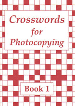 Load image into Gallery viewer, Crosswords for Photocopying: Book 1