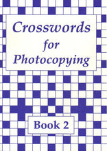 Load image into Gallery viewer, Crosswords for Photocopying: Book 2