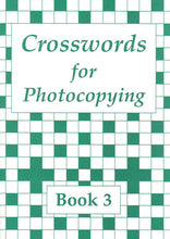 Load image into Gallery viewer, Crosswords for Photocopying: Book 3
