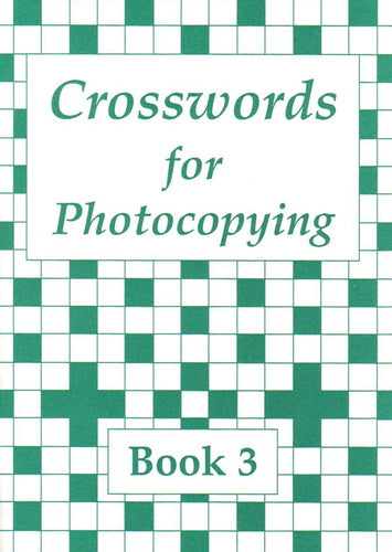 Crosswords for Photocopying: Book 3