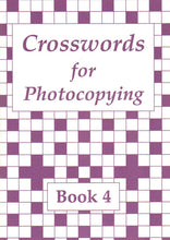 Load image into Gallery viewer, Crosswords for Photocopying: Book 4