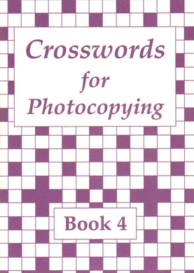 Crosswords for Photocopying: Book 4