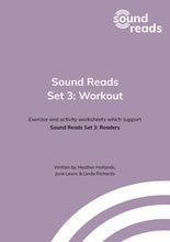 Load image into Gallery viewer, Sound Reads: Set 3 Readers and Workout
