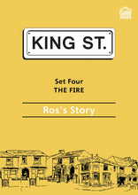 Load image into Gallery viewer, The Fire: Ros's Story: King Street Readers: Set Four: Book 5